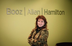 Catherine Breeze, former Navy Reservist and VP at Booz Allen Hamilton