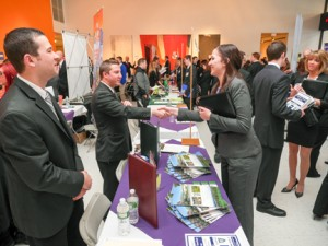 Career Fair at the School of Hospitality and Tourism Management