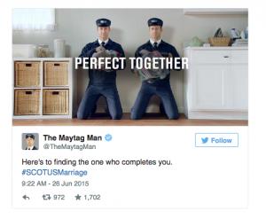 Maytag tweet