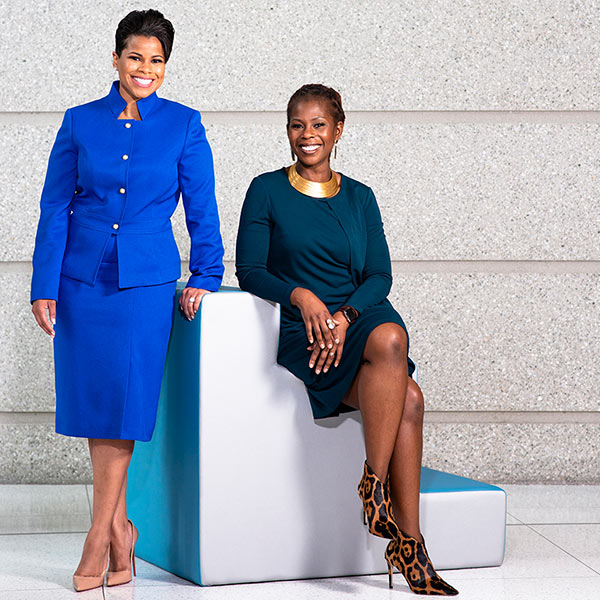 l-r: Dominica Groom Williams, Freddie Mac VP of the Office of Inclusive Engagement; Jacqueline Welch, Freddie Mac Chief Human Resources Officer and Chief Diversity Officer