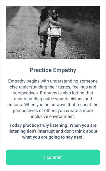 MicroAction - Enhance Empathy