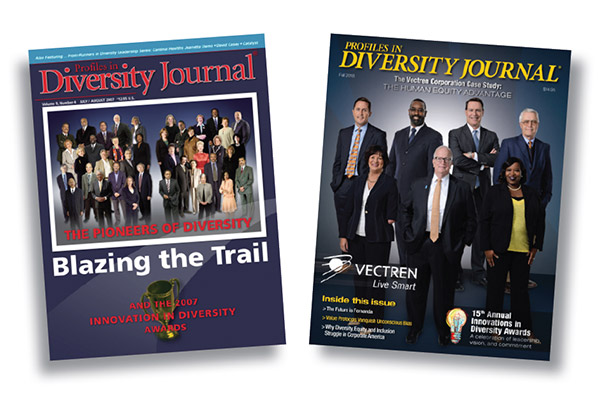 Profiles In Diversity Journal Magazine Covers