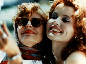 "Davis cemented her reputation for playing strong, empowered women with the 1991 action film Thelma & Louise, in which, she and Susan Sarandon played friends on the run from the law. ""I came away from that film with a heightened awareness of what these types of powerful roles can mean for women,"" she said. ""It has colored all my acting choices since."""